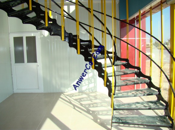 Anwer Co. new office stairs